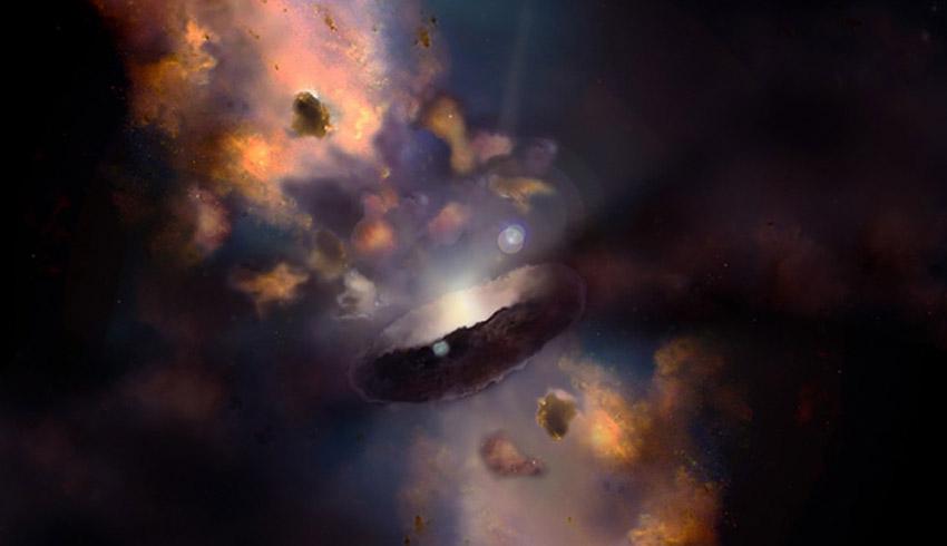 ANU scientists challenge the concept of dark matter