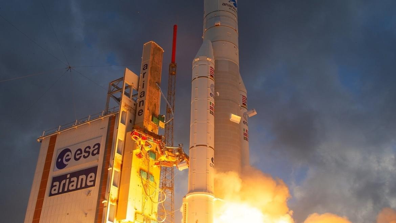 Eutelsat Quantum launched 30 July 2021 (ESA)