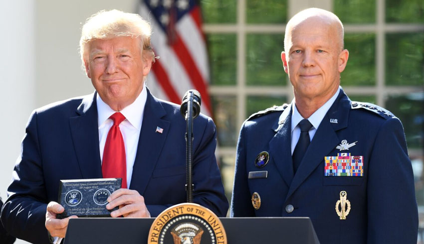 USAF General Jay Raymond sworn in as head of US Space Force