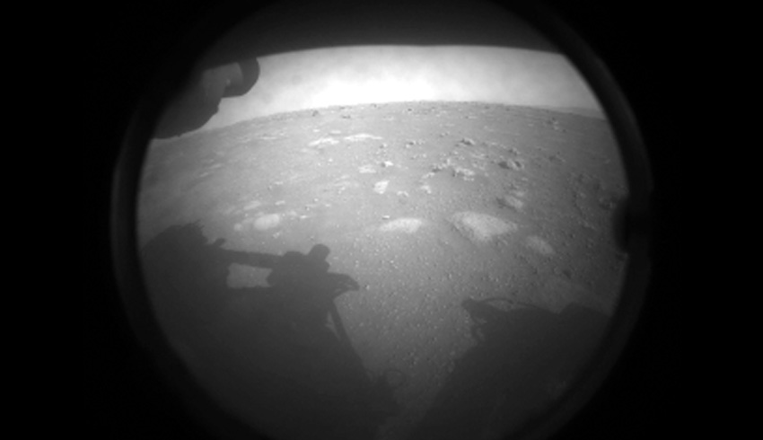 Perseverance lands on Red Planet