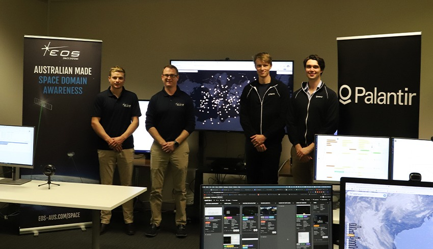 EOS Space Systems and Palantir Australia partner on Sprint Advanced Concept Training