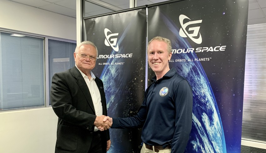 SpaceLink Gilmour Space sign MOU