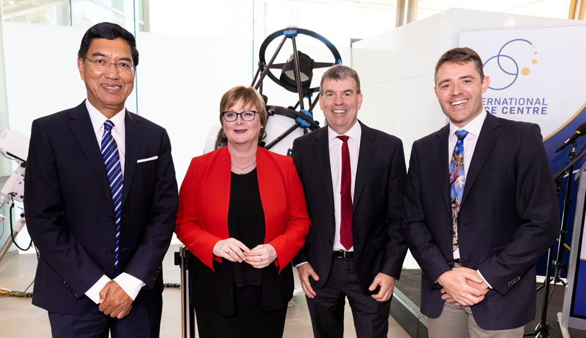 UWA launches International Space Centre