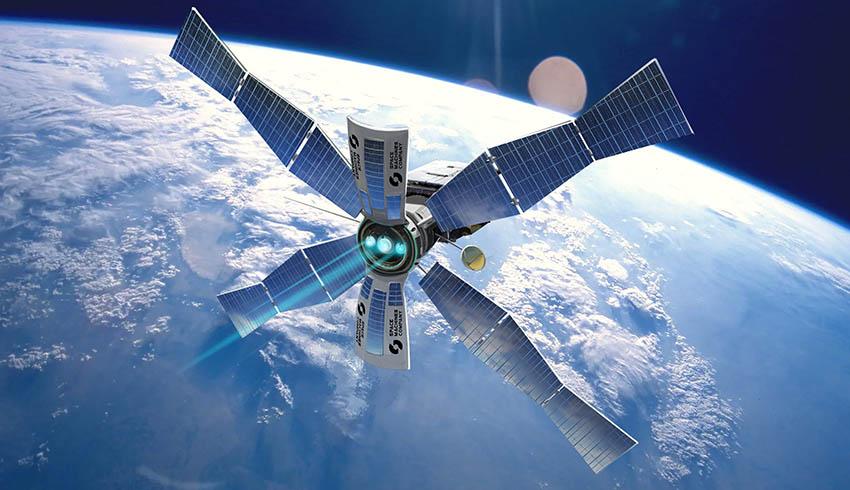 Bushfire detection satellite