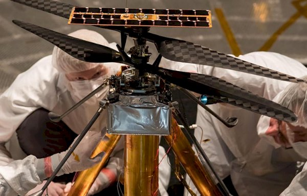 NASA's Mars Helicopter testing enters final phase